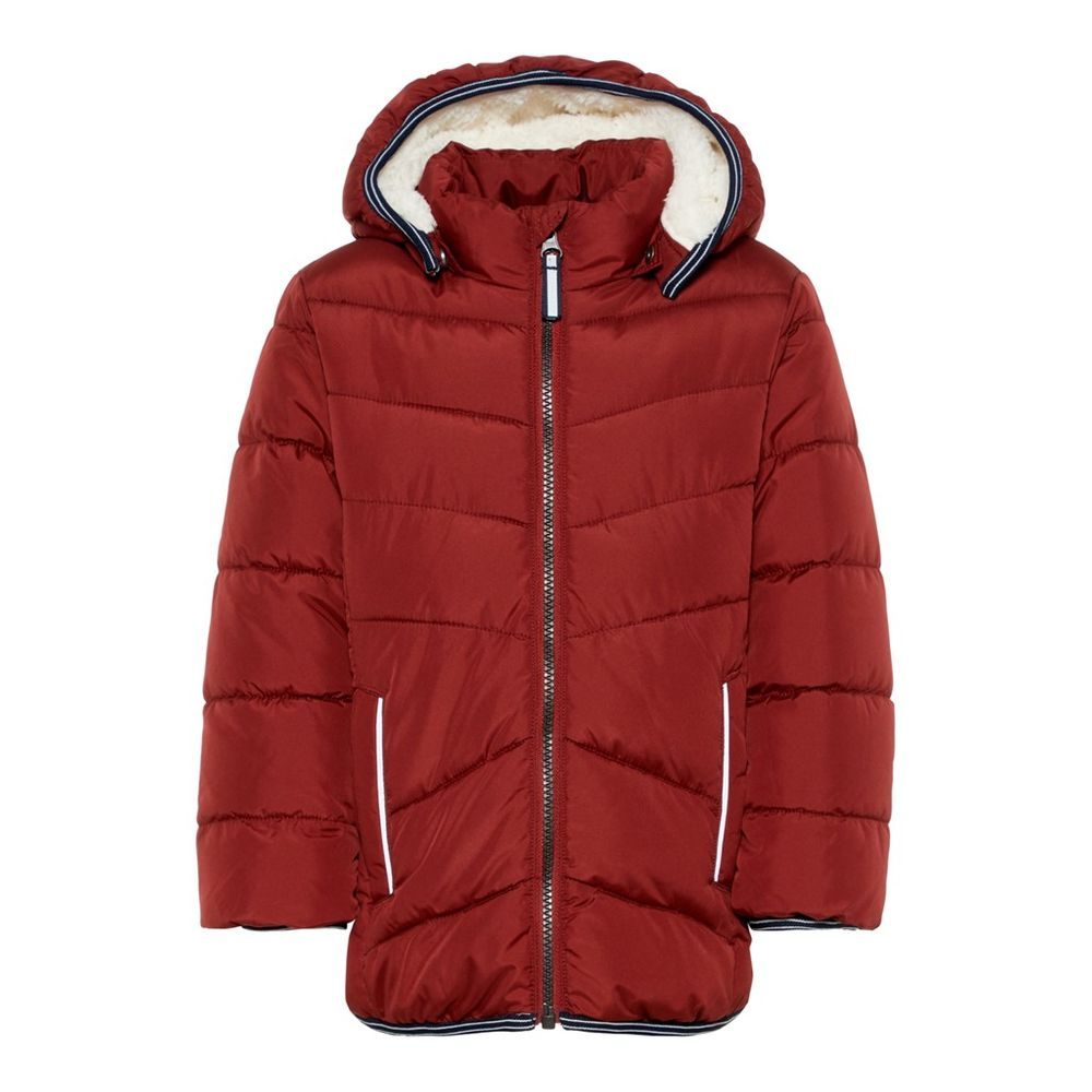 Куртка Name it Teddy (красная), арт. 193.13167534.BRED, цвет Красный