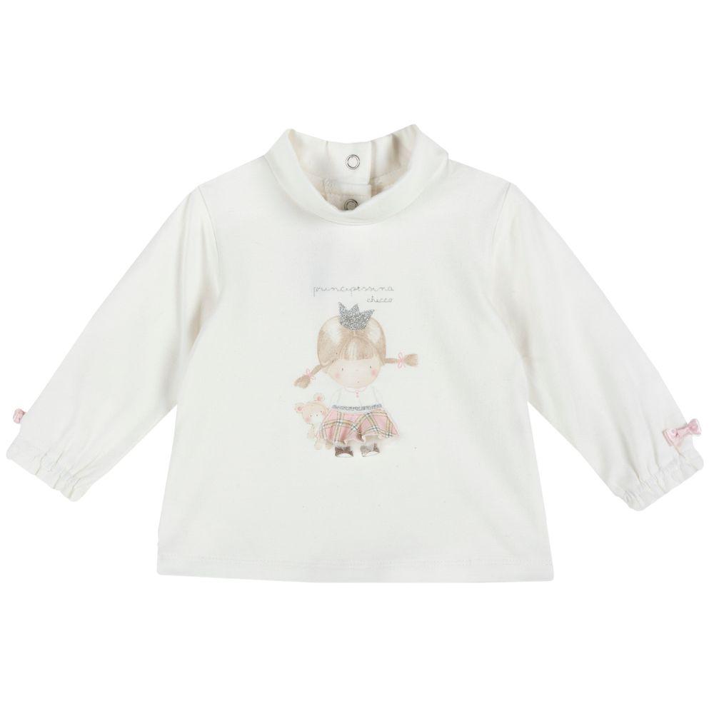 Реглан Chicco Happy princess, арт. 090.47203.030, цвет Белый