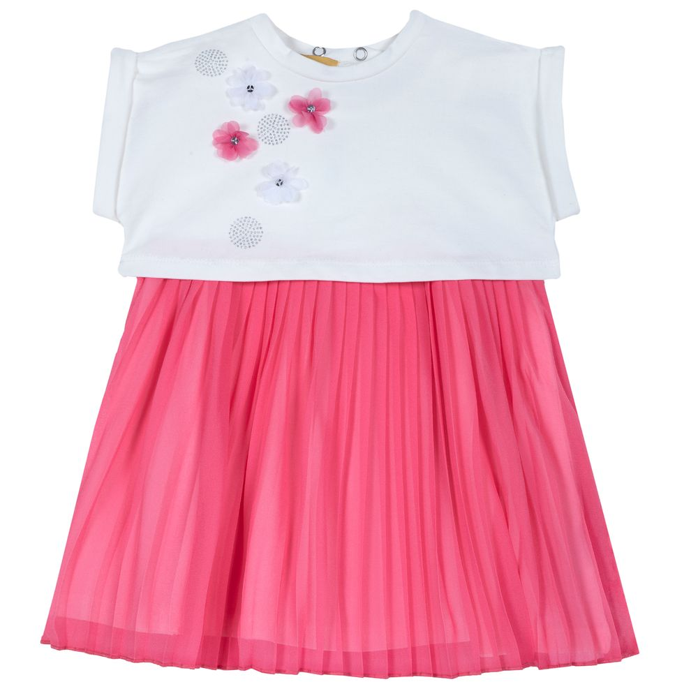Комплект Chicco Lovely girl: топ и платье, арт. 090.76443.015, цвет Розовый