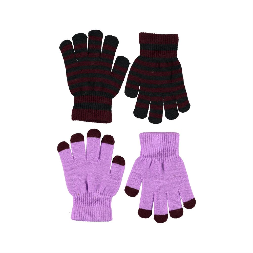 Перчатки Molo Kei Acid Purple (2 пары), арт. 7W20S204.8214, цвет Сиреневый