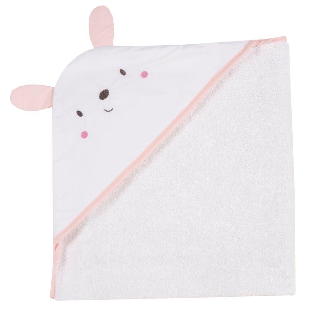 Полотенце Chicco Smile bunny, арт. 090.40968.011, цвет Розовый