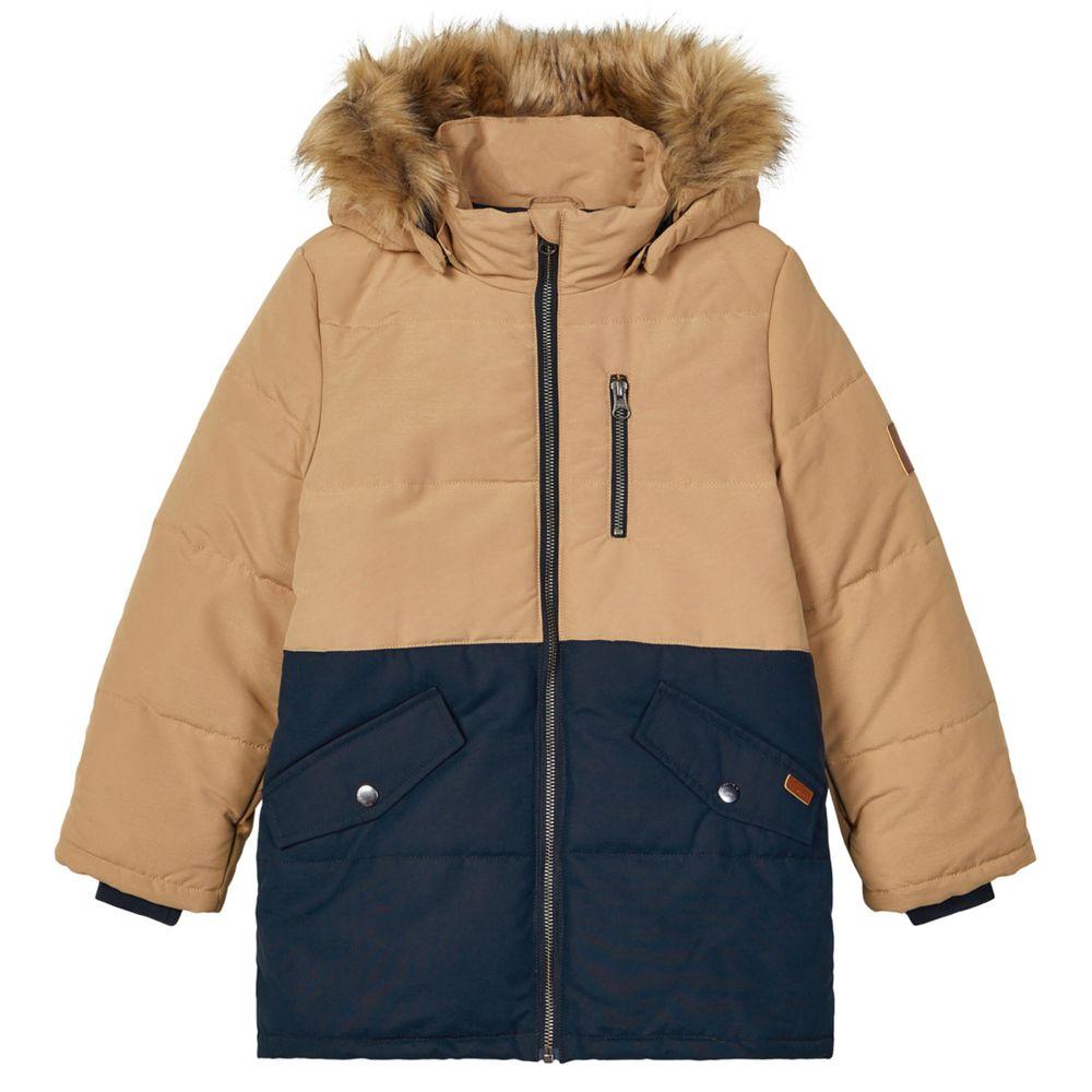 Куртка Name it Alvin, арт. 203.13179857.TANN, цвет Бежевый