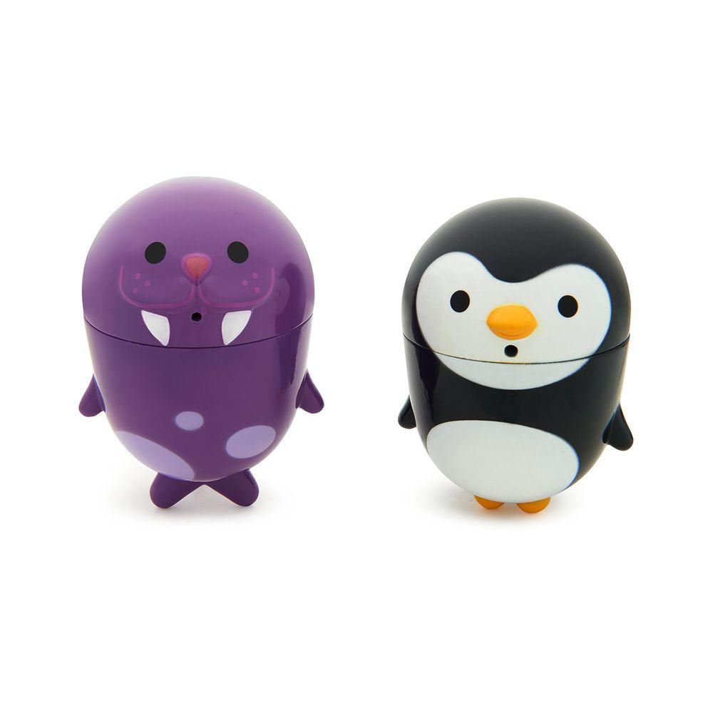 """Игрушка для ванной Munchkin """"Пингвин и морж"""", арт. 011203.01, цвет Голубой"""