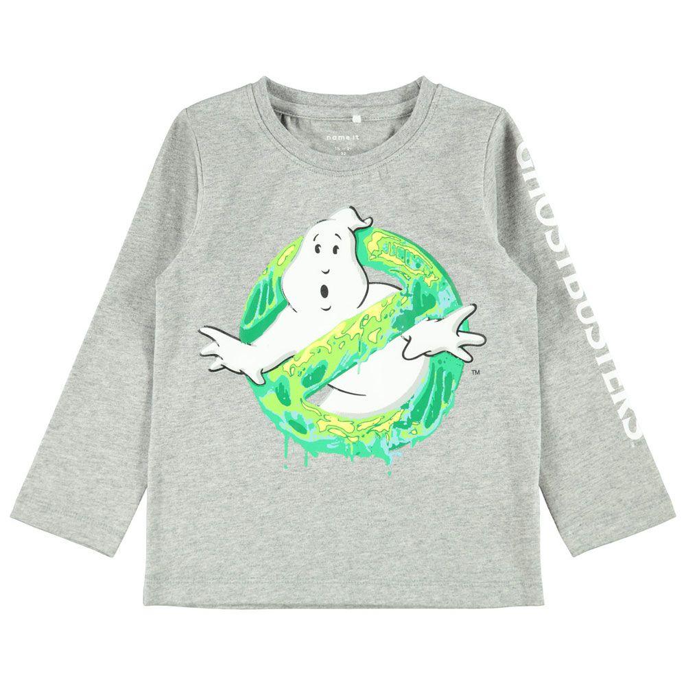 Реглан Name it Ghost hunters, арт. 203.13179252.GMEL, цвет Серый