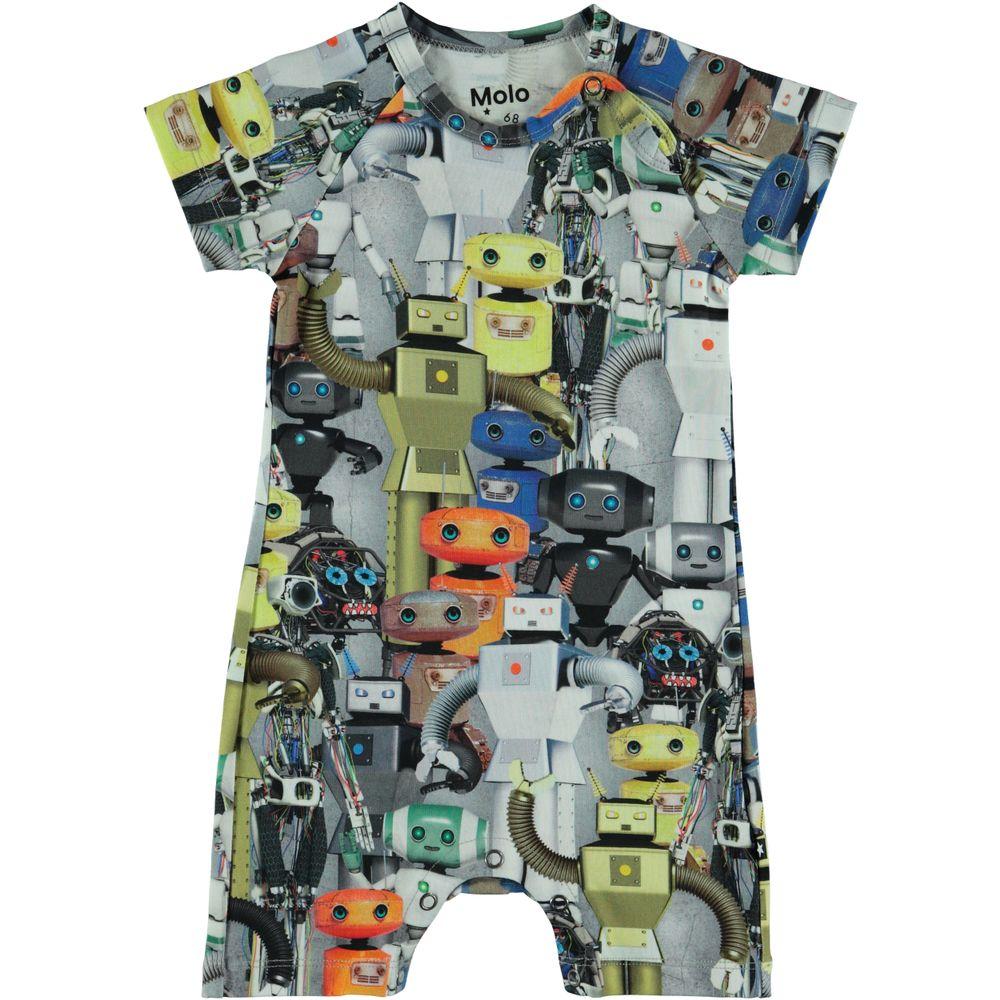 Полукомбинезон Molo Felton Robots, арт. 3S19B401.4801, цвет Серый