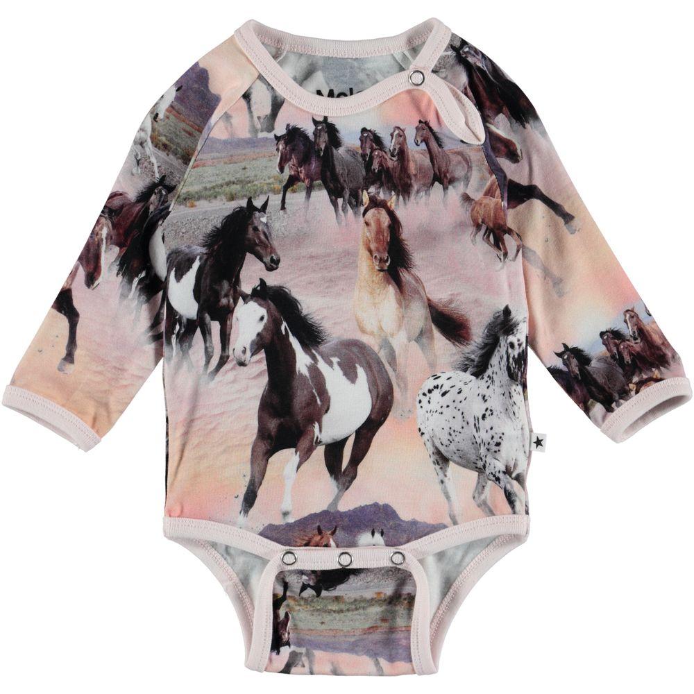 Боди Molo Fonda Wild Horses, арт. 4S19B203.4183, цвет Серый