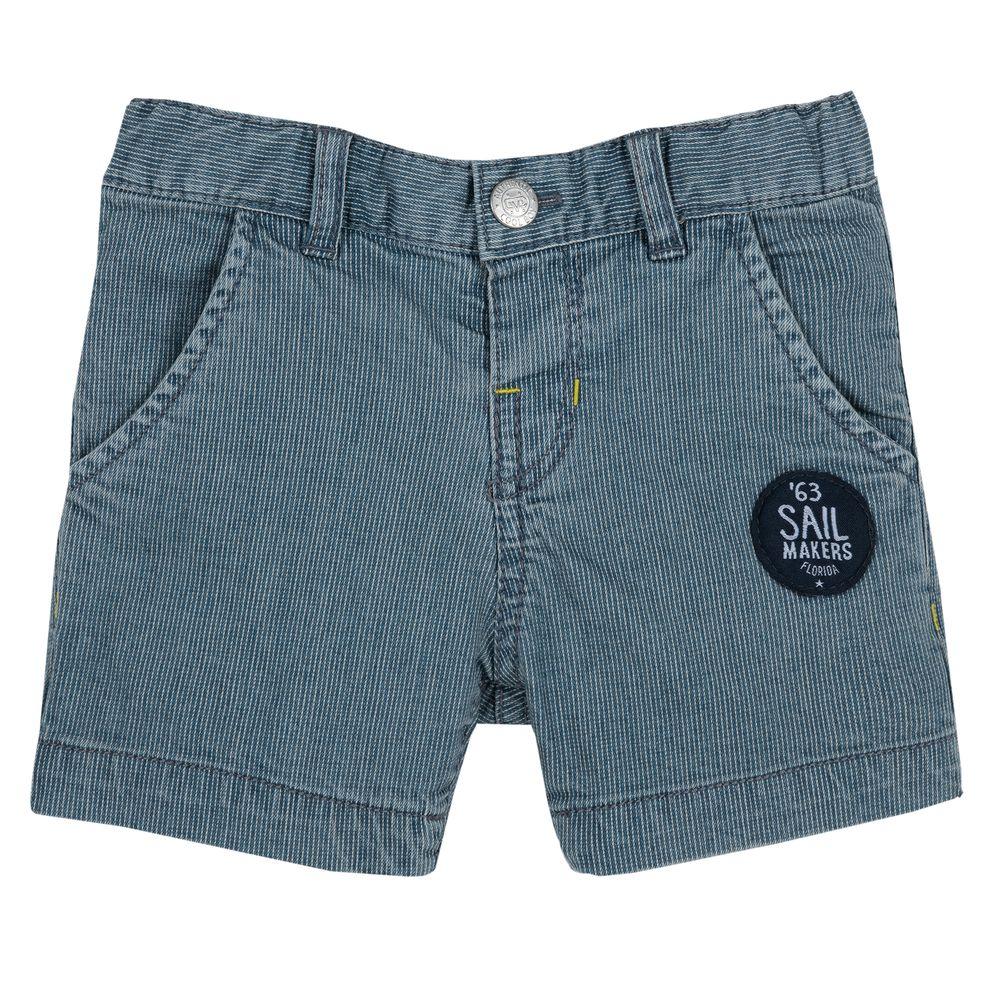 Шорты джинсовые Chicco Jungle, арт. 090.52741.085, цвет Синий