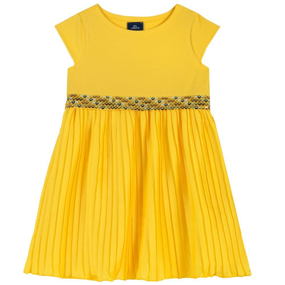 Платье Chicco Gabriella, арт. 090.03693.041, цвет Желтый