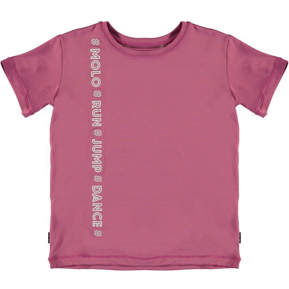 Футболка Molo Olinka Red Violet, арт. 2S20A240.8200, цвет Розовый