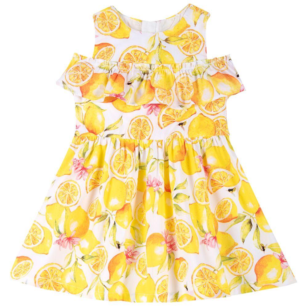 Платье Chicco Fruit, арт. 090.03715.064, цвет Желтый
