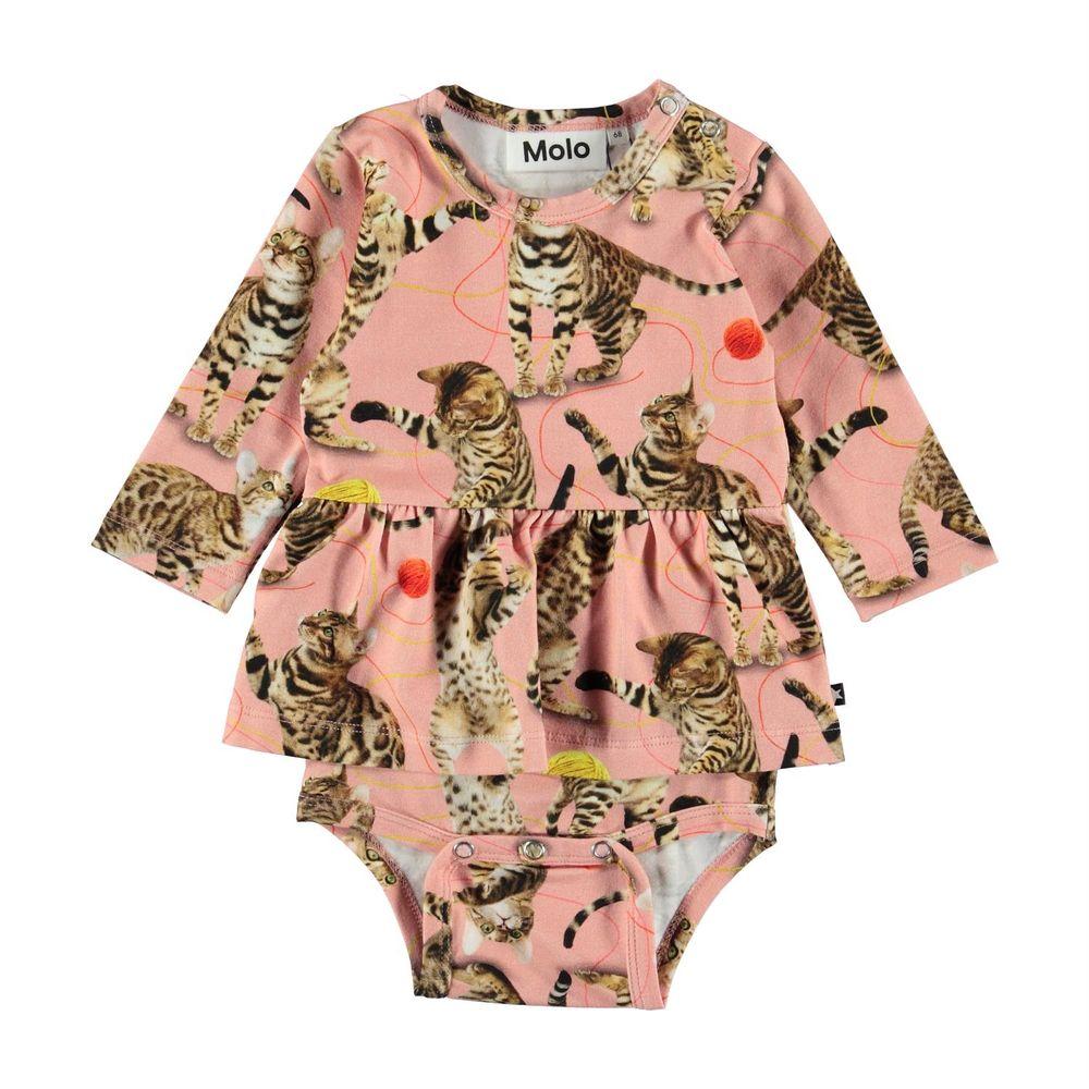 Боди Molo Frances Wannabe Leopard, арт. 4W19B203.4875, цвет Розовый