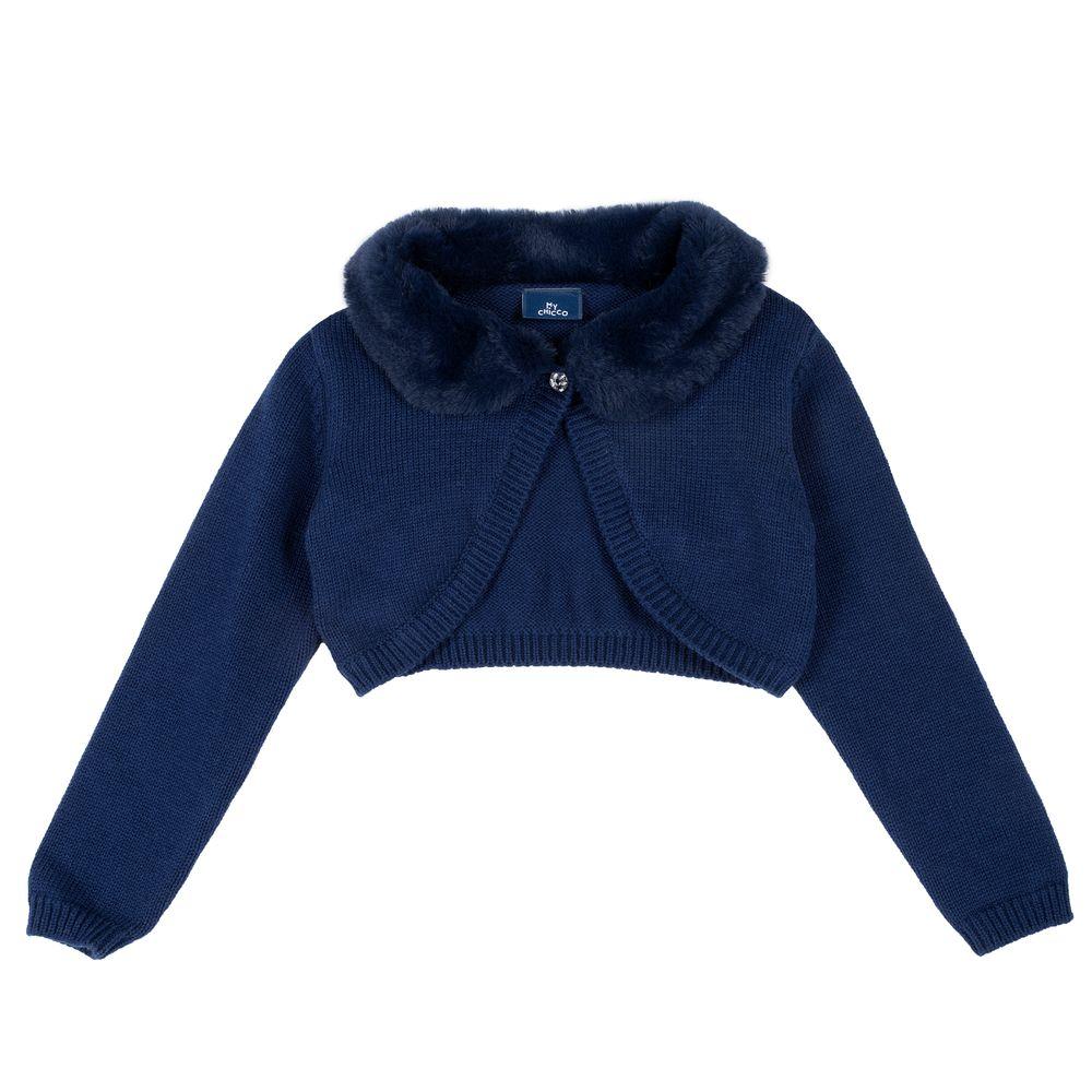 Кардиган Chicco Lucy, арт. 090.09358.085, цвет Синий