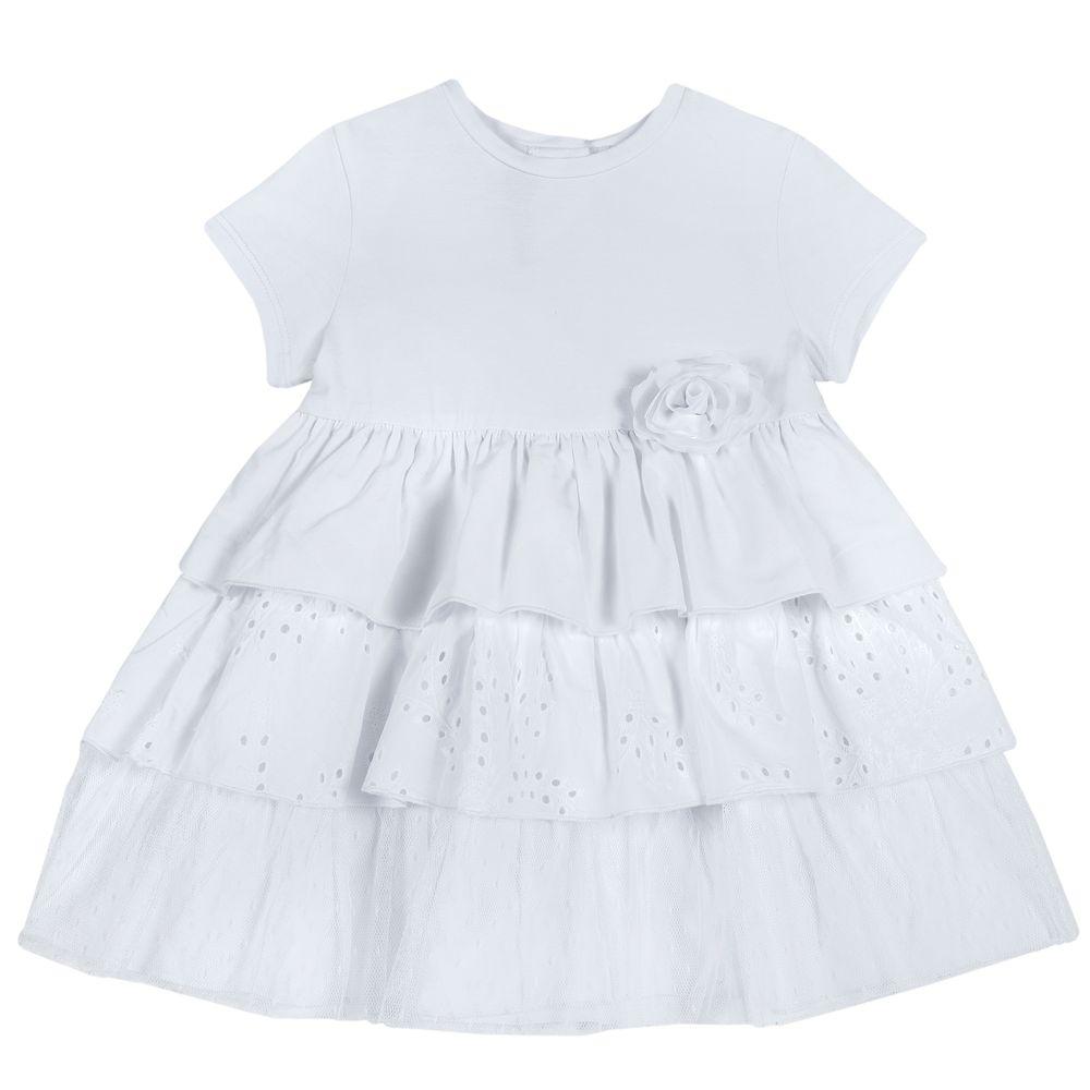 Платье Chicco Esmeralda, арт. 090.03610.033, цвет Белый