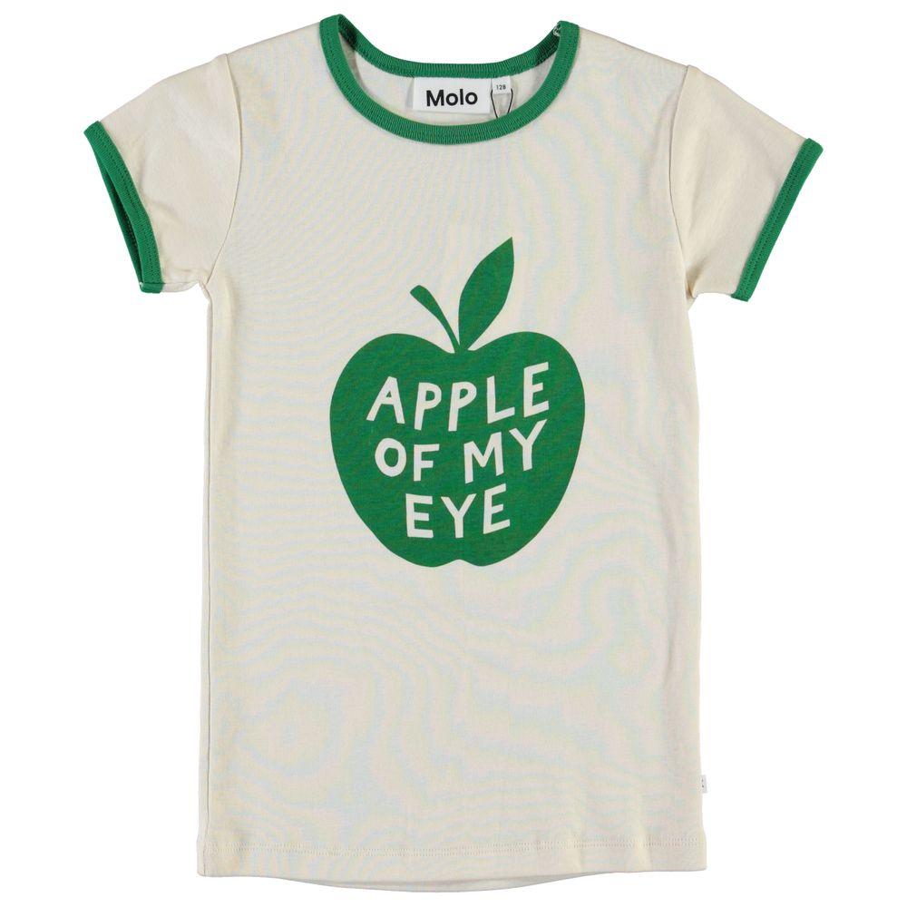 Футболка Molo Rhiannon Apple, арт. 2S20A214.7133, цвет Белый