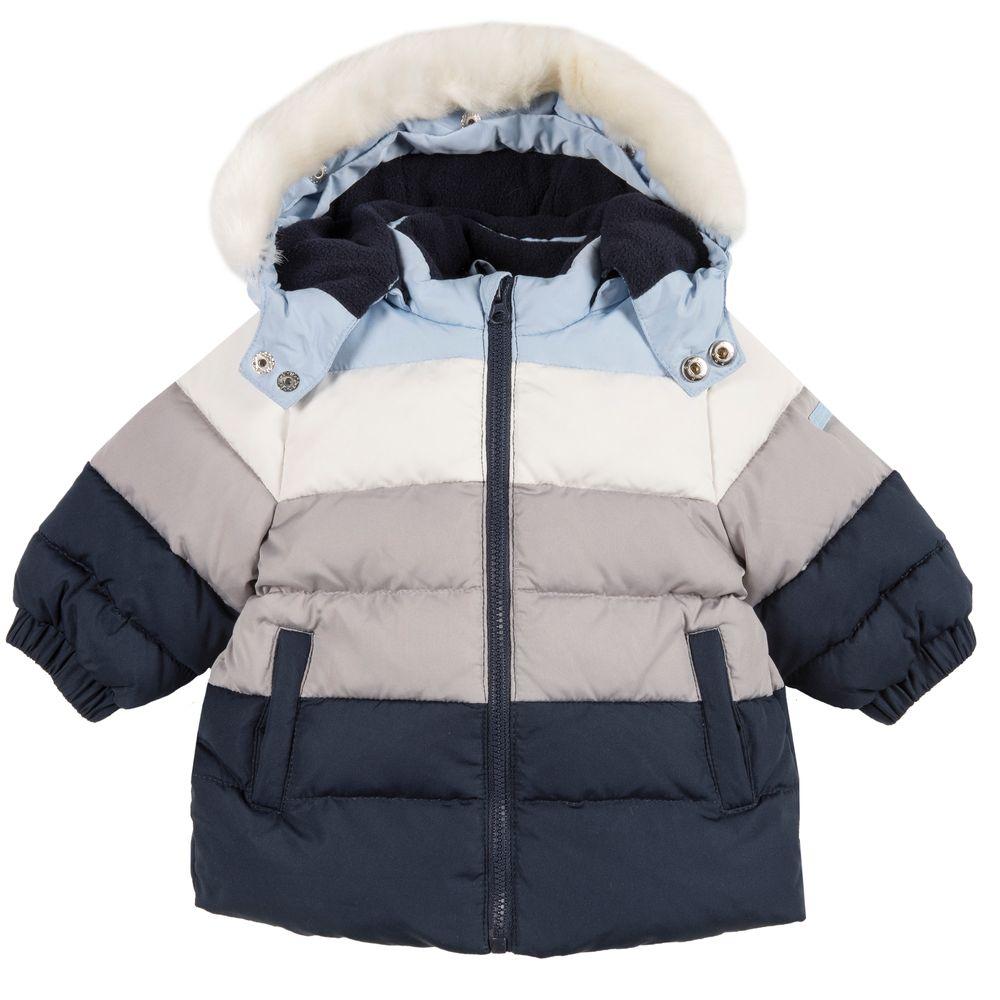 Куртка пуховая Chicco Sea wolf, арт. 090.87175.088, цвет Синий