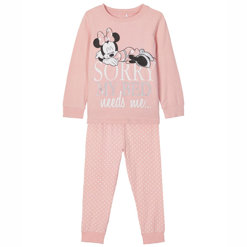 Пижама Name it Minnie Mouse, арт. 203.13183364.CBLU, цвет Розовый