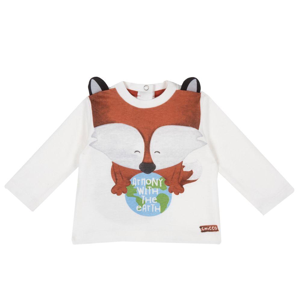 Реглан Chicco Armony Brown, арт. 090.06157.030, цвет Белый