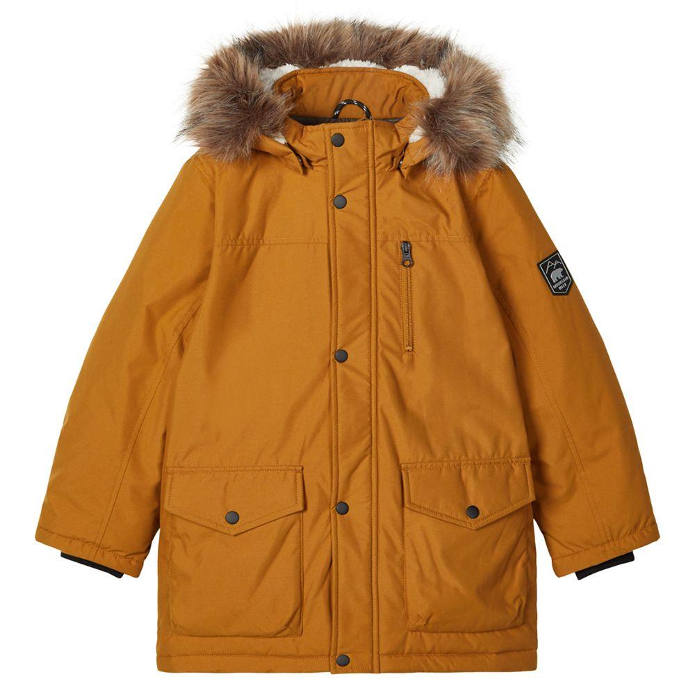 Куртка-парка Name it Valter, арт. 203.13178866.GBRO, цвет Горчичный