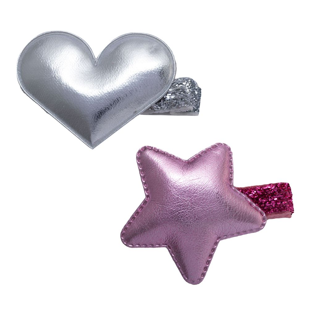Заколка (2 шт) Chicco Cute fairy, арт. 090.46355.011, цвет Розовый