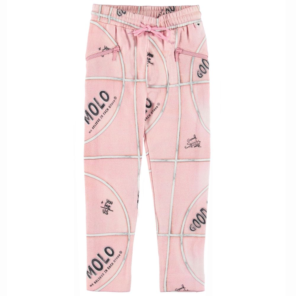 Брюки Molo Alexa Pink Basketball, арт. 2W19I216.4909, цвет Розовый