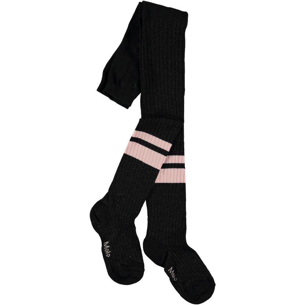 Колготы Molo Sporty Rib Tights Black, арт. 7W19G206.0099, цвет Черный