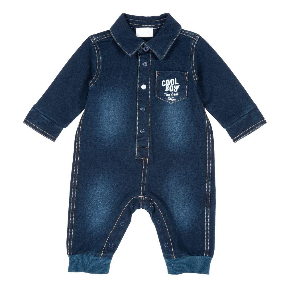 Комбинезон джинсовый Chicco Cool Boy, арт. 090.21566.088, цвет Синий