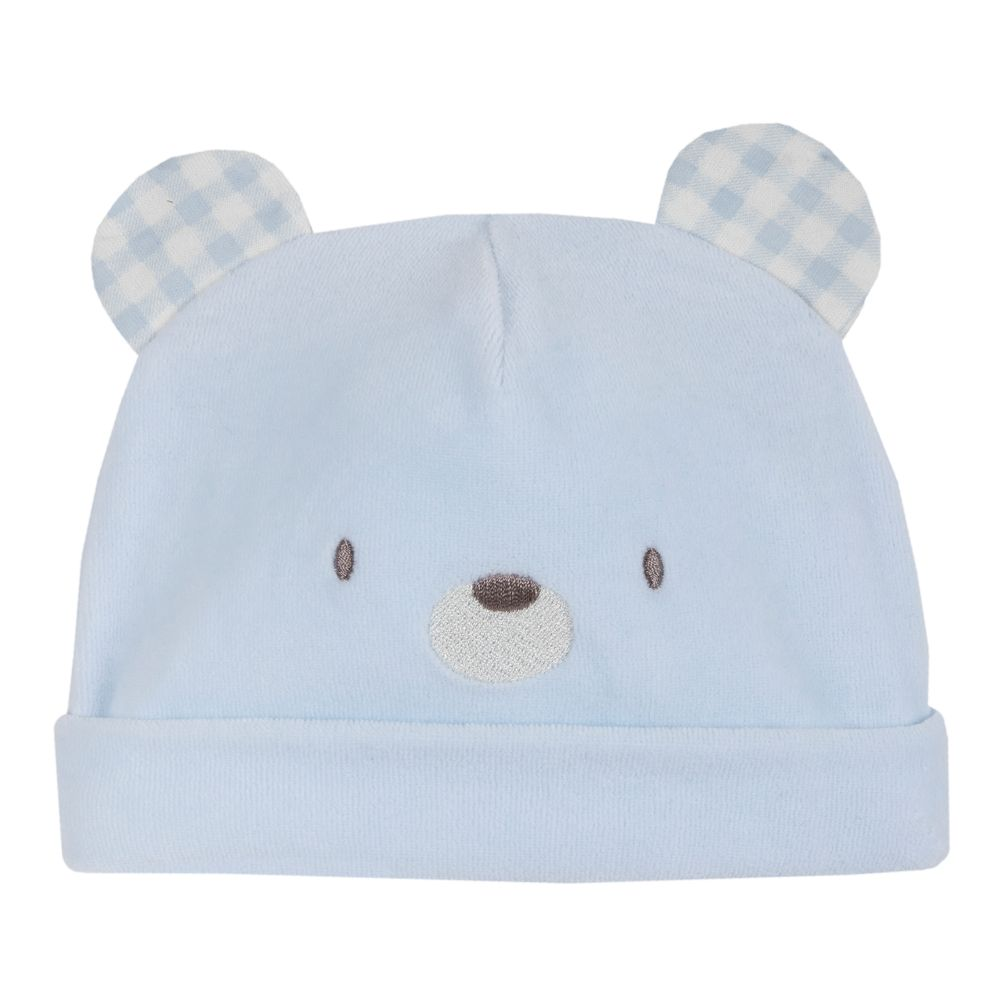 Шапка велюровая Chicco Baby koala, арт. 090.04238.021, цвет Голубой