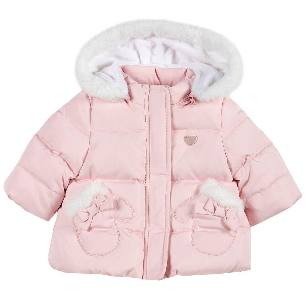 Куртка пуховая Chicco Shiny star, арт. 090.87093.010, цвет Розовый