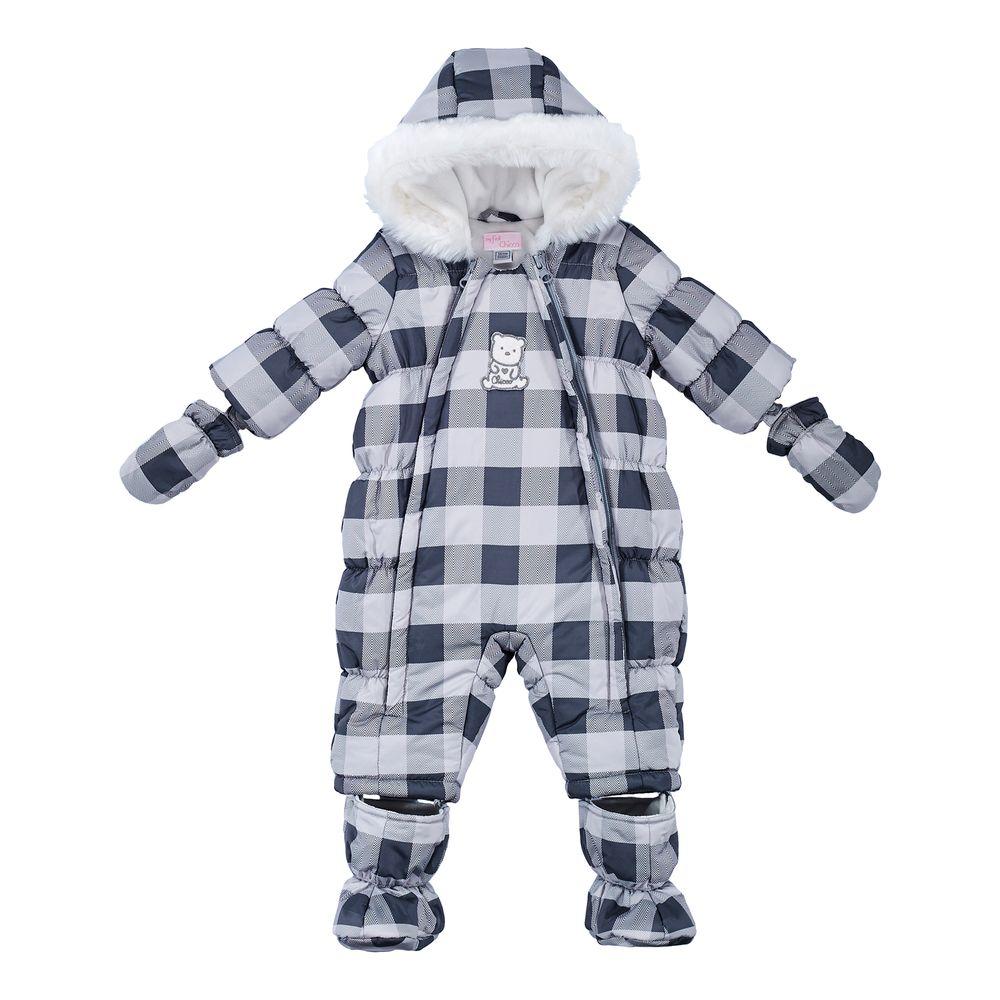 Термокомбинезон Chicco Cute bear, арт. 090.29350, цвет Серый