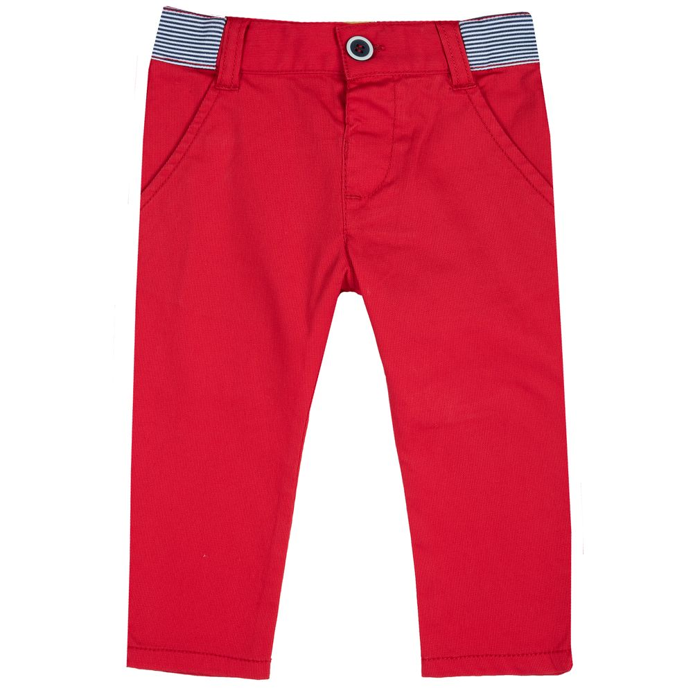 Брюки Chicco Sunny road, арт. 090.08151.075, цвет Красный