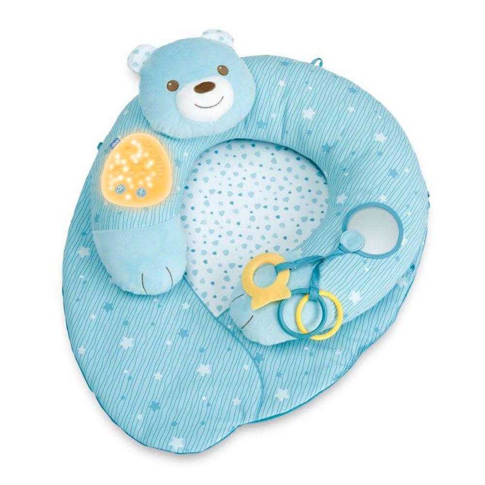 """Игровой коврик Chicco """"Мое первое гнездышко"""", арт. 09829, цвет Голубой"""