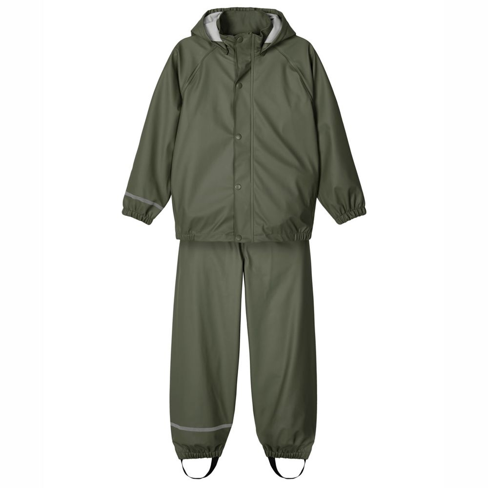 Костюм Name it Rain: куртка и брюки, арт. 203.13177542.THYM, цвет Оливковый