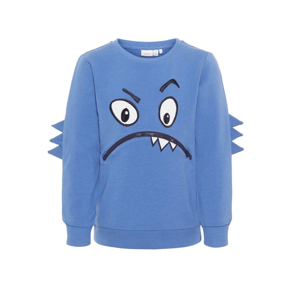 Джемпер Name it Monster, арт. 193.13167334.DBLU, цвет Голубой