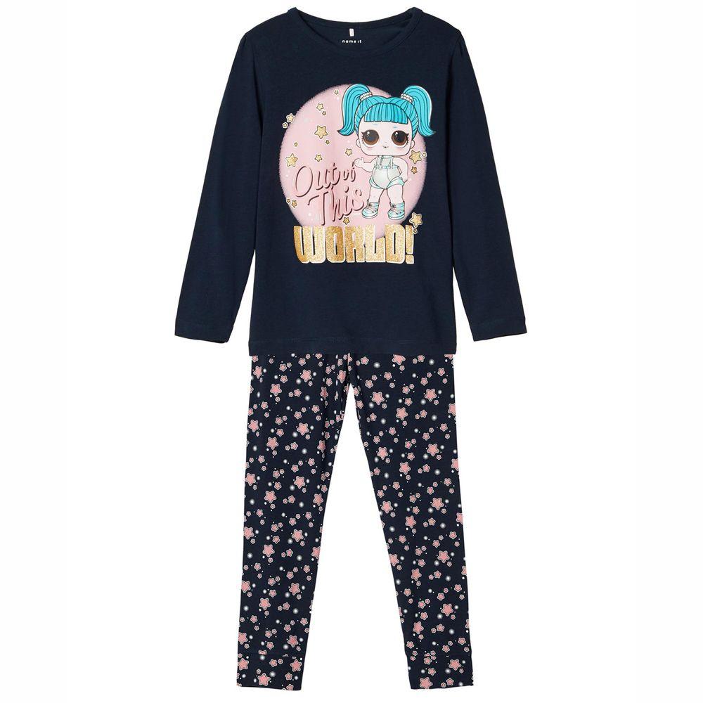 Пижама Name it L.O.L Dolls blue, арт. 203.13184577.DSAP, цвет Синий