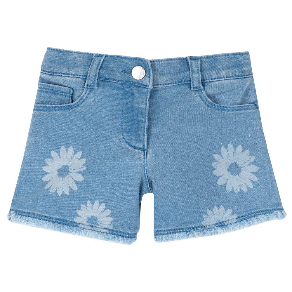 Шорты джинсовые Chicco Funny girl, арт. 090.52918.025, цвет Голубой