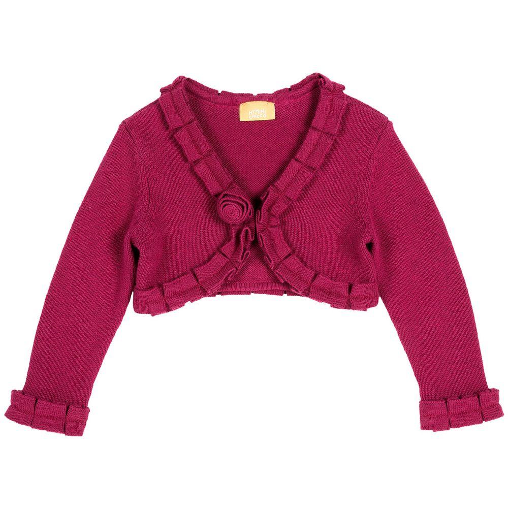 Кардиган Chicco Red Rose, арт. 090.96702.019, цвет Розовый