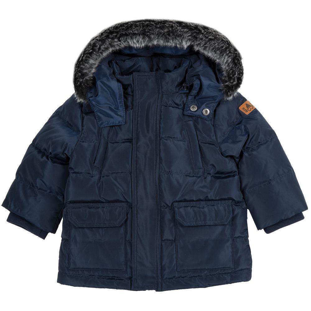 Куртка пуховая Chicco Oscar, арт. 090.87353.088, цвет Синий