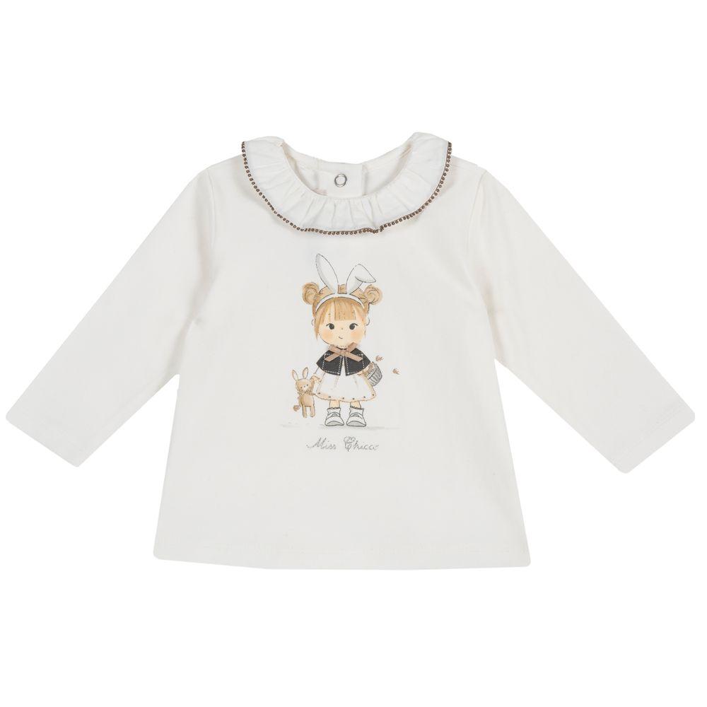 Реглан Chicco Happy fairy, арт. 090.47560.030, цвет Белый
