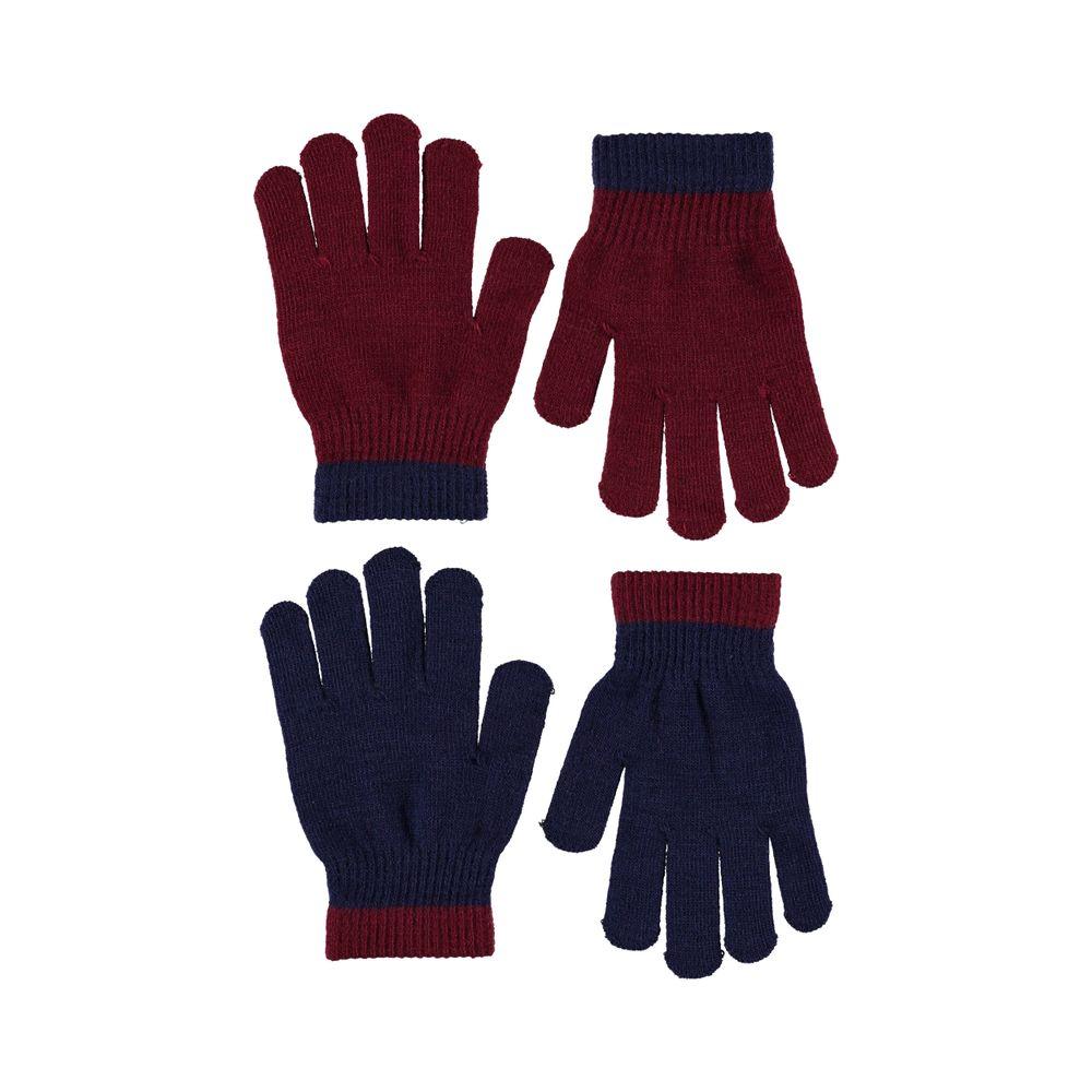 Перчатки Molo Kello Carbernet (2 пары), арт. 7W19S205.8005, цвет Красный с синим