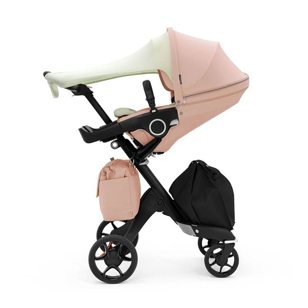 Прогулочная коляска Stokke Xplory V6 Balance Limited Edition, арт. 5438, цвет Розовый