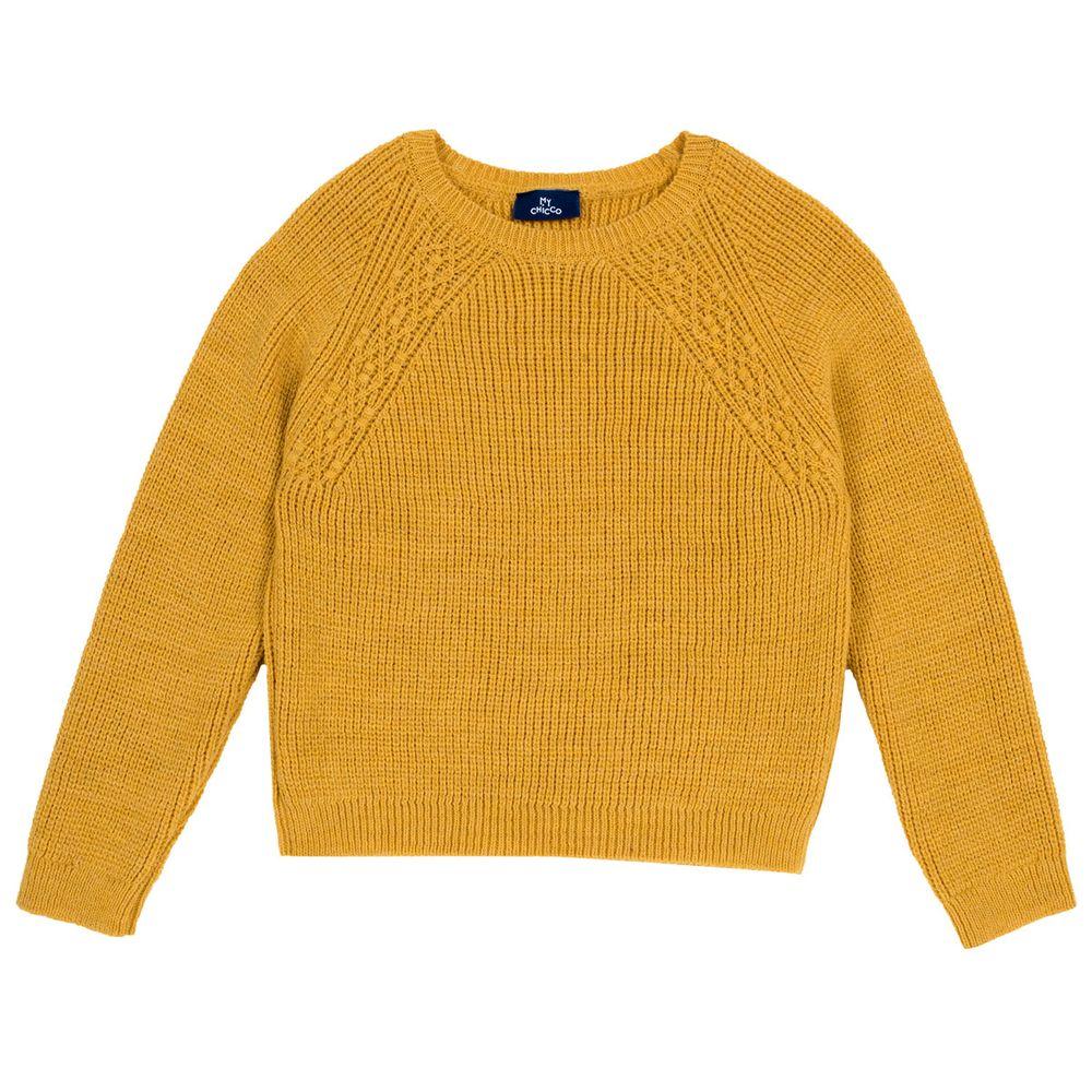 Пуловер Chicco Amazing, арт. 090.69334, цвет Желтый