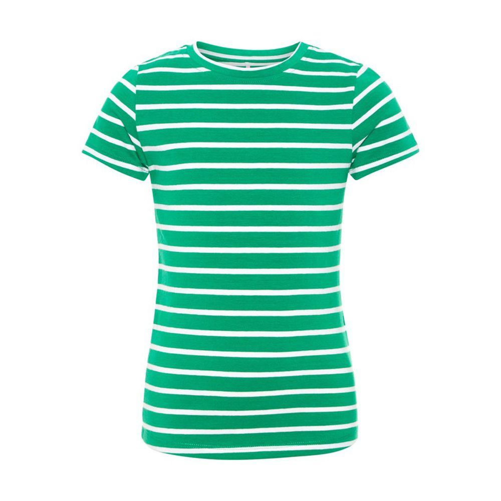 Футболка Name it Green, арт. 13165051.JGRE, цвет Светло-зеленый