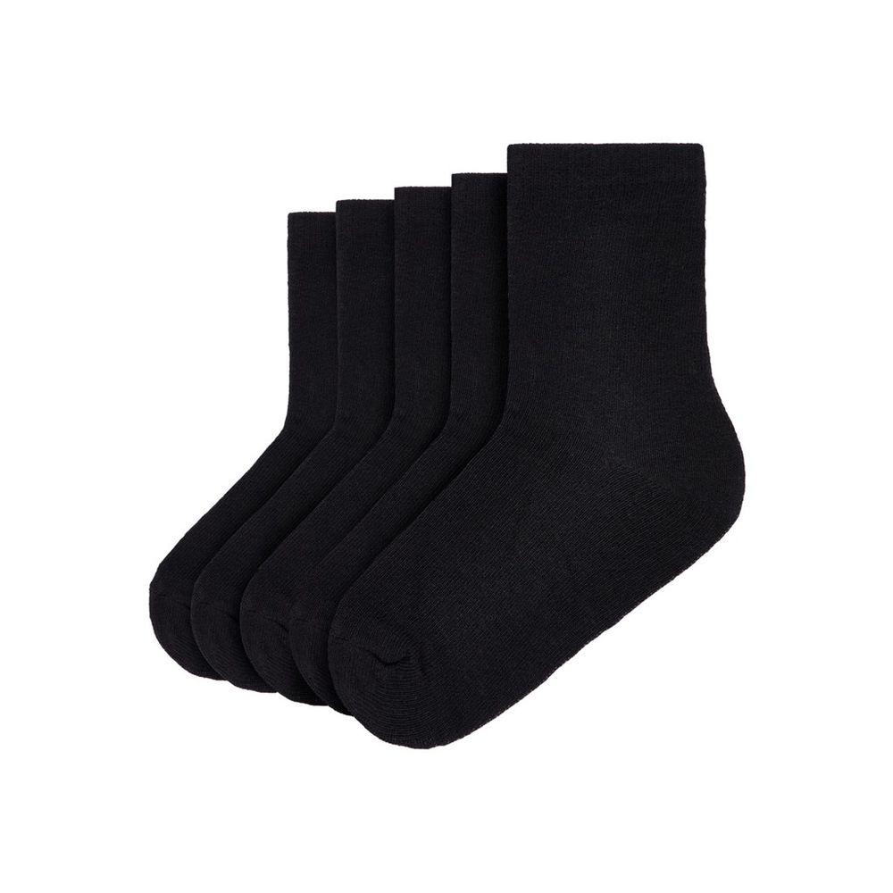 Носки (5 пар) Name it Black, арт. 193.13163815.BLAC, цвет Черный