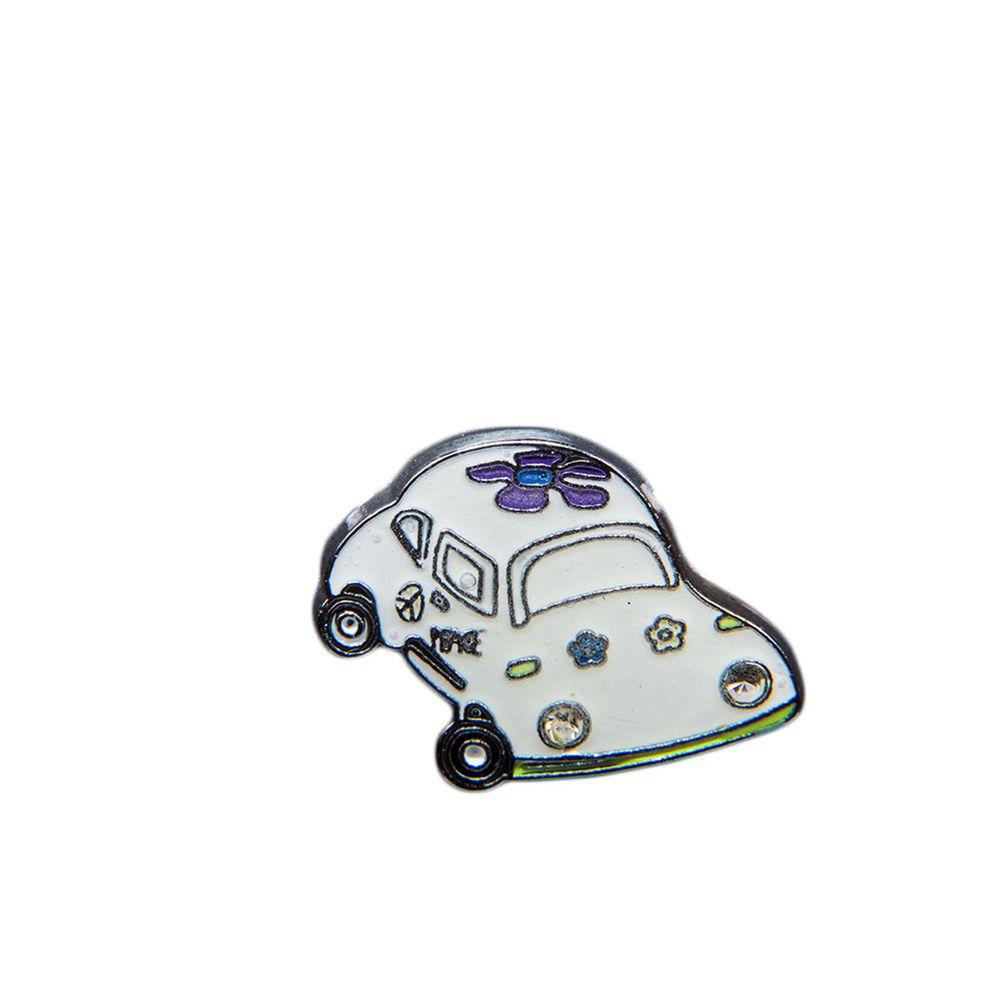 "Эмодзи Tinto ""Glow in the dark Car"", арт. AC2265, цвет Белый"