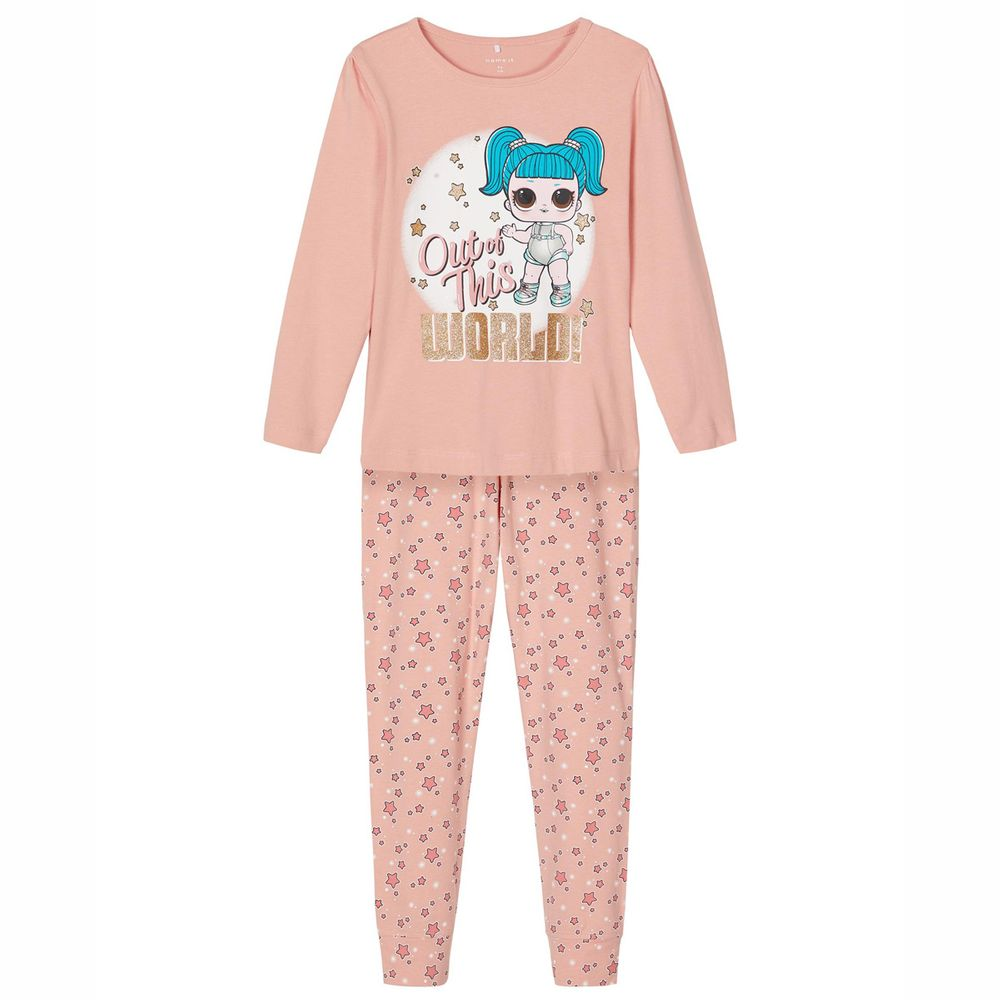 Пижама Name it L.O.L Dolls, арт. 203.13184577.MROS, цвет Розовый