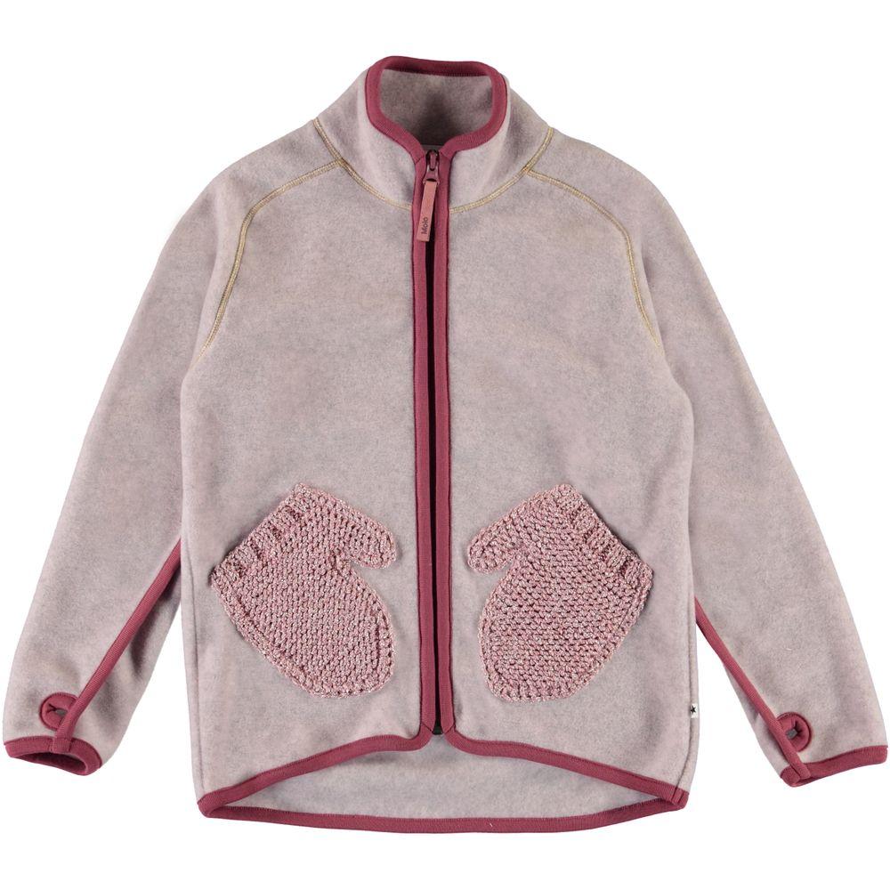 Кардиган Molo Ushi Fair Pink, арт. 5W20L211.8226, цвет Сиреневый