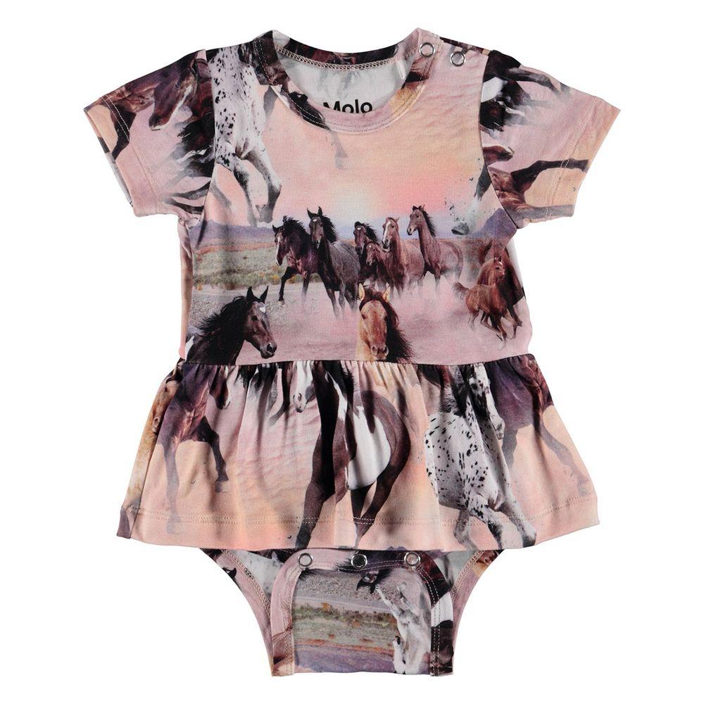 Боди Molo Frannie Wild Horses, арт. 4S19B103.4183, цвет Розовый