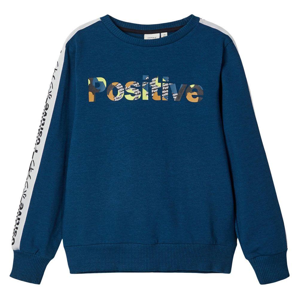 Джемпер Name It Positive, арт. 203.13179757.GSEA, цвет Синий