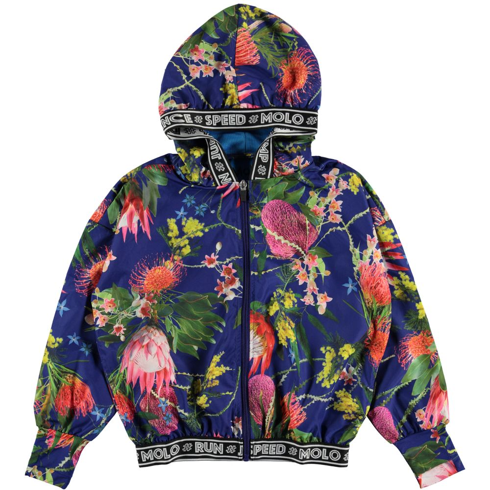 Куртка Molo Ophelia Wild Flowers, арт. 2W19M306.6039, цвет Синий