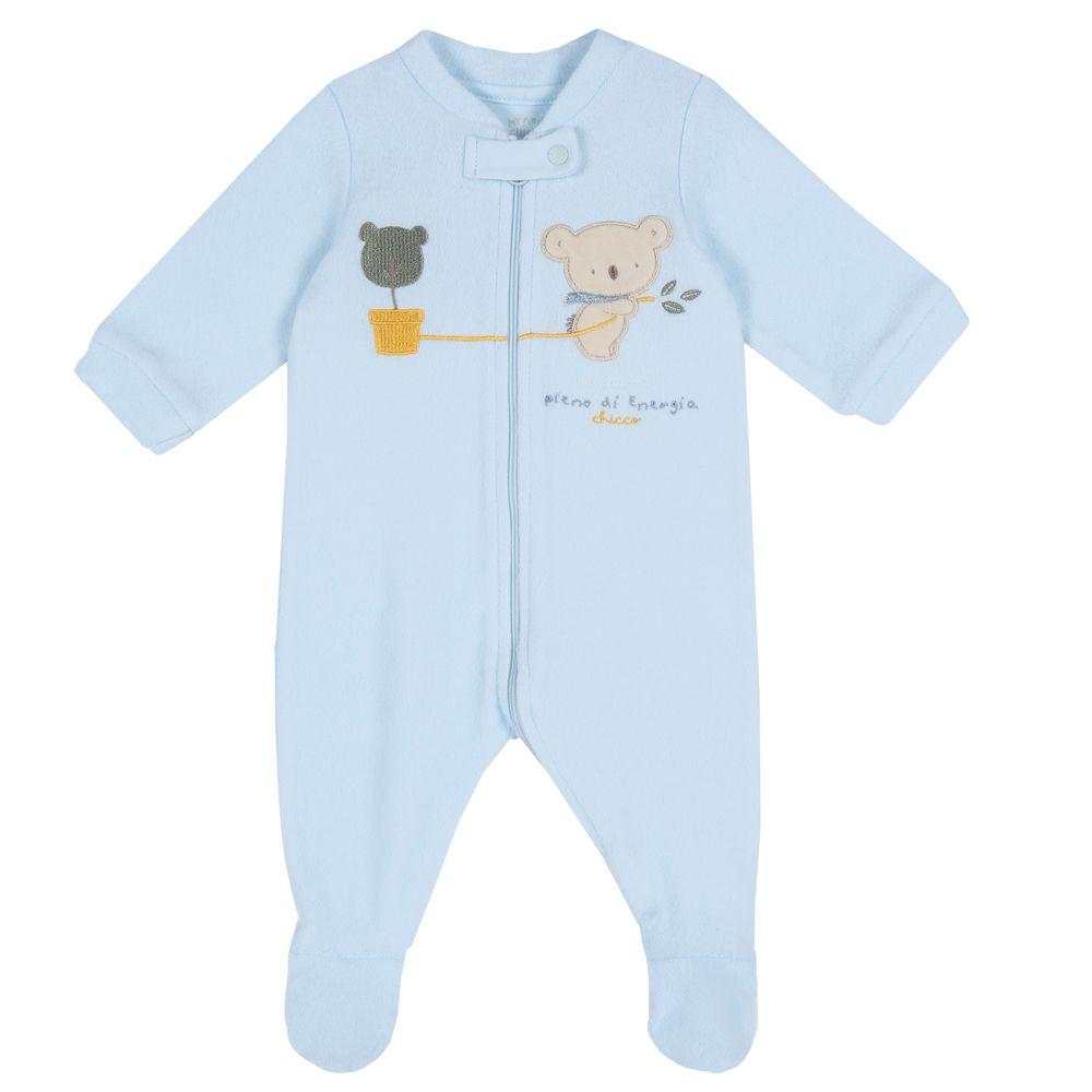 Комбинезон флисовый Chicco Little koala, арт. 090.02034.021, цвет Голубой